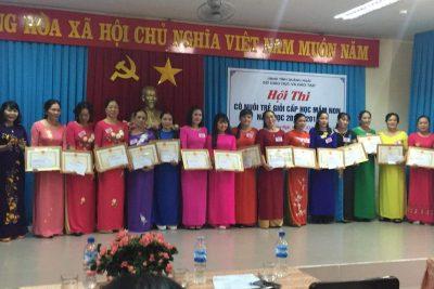Quảng Ngãi: Tổ chức Hội thi cô nuôi trẻ giỏi cấp học mầm non