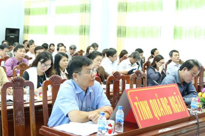 Hội nghị triển khai chương trình giáo dục phổ thông mới