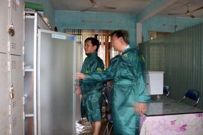 Sở Giáo dục và Đào tạo kiểm tra công tác phòng chống mưa lũ