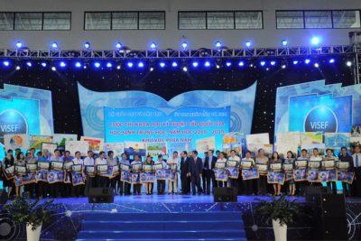 Quảng Ngãi: Đạt 3 giải tại Cuộc thi Khoa học kỹ thuật cấp quốc gia học sinh trung học khu vực phía Nam