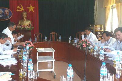 Hội khuyến học tỉnh làm việc với Sở Giáo dục và Đào tạo Quảng Ngãi