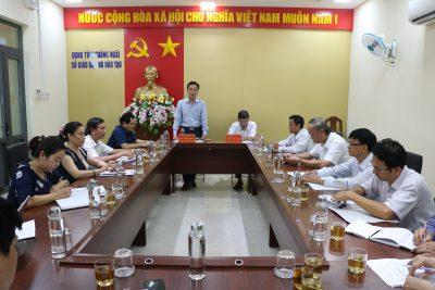 Họp chuẩn bị tổ chức kỳ thi tốt nghiệp THPT năm 2020 tại Quảng Ngãi