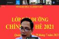 Hội nghị bồi dưỡng, sinh hoạt chính trị hè năm 2021