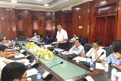 Sở Giáo dục và Đào tạo Quảng Ngãi: Làm việc với huyện Bình Sơn về công tác phát triển giáo dục và đào tạo trên địa bàn