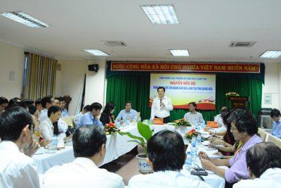Thứ trưởng Bộ Giáo dục và Đào tạo thăm và làm việc tại Quảng Ngãi