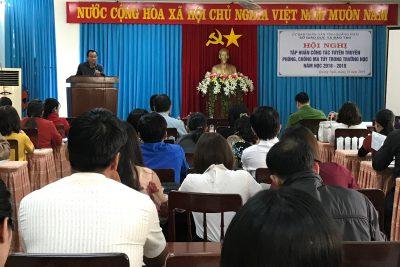 Hội nghị tập huấn tuyên truyền, giáo dục về tác hại của ma túy