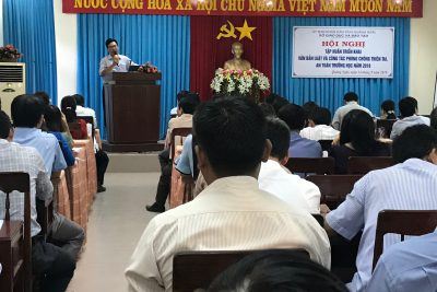 Hội nghị tập huấn triển khai văn bản luật và công tác phòng chống thiên tai năm 2019