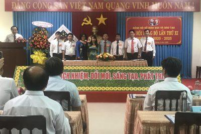Đại hội Đảng bộ Sở Giáo dục và Đào tạo lần thứ XI, nhiệm kỳ 2020-2025 thành công tốt đẹp