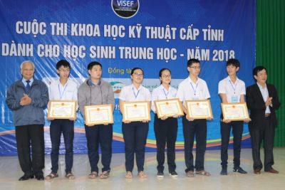 Tổ chức Cuộc thi Sáng tạo khoa học kỹ thuật học sinh trung học năm học 2017- 2018