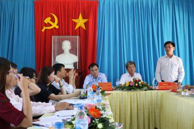 Đoàn kiểm tra công tác thi đua, khen thưởng của Bộ Giáo dục và Đào tạo làm việc tại Quảng Ngãi