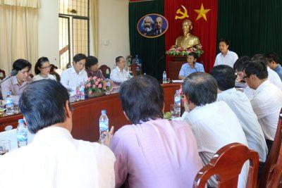 Bộ Giáo dục và Đào tra kiểm tra công tác chuyên môn tại Quảng Ngãi