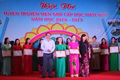 Quảng Ngãi: Tổng kết và trao giải Hội thi tuyên truyền viên giỏi cấp học Mầm non
