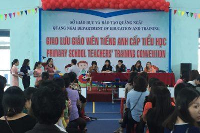 Quảng Ngãi tổ chức giao lưu giáo viên tiếng Anh tiểu học cấp tỉnh