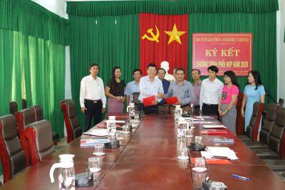 Sở Giáo dục và Đào tạo và Ban Tuyên giáo Tỉnh ủy ký kết Chương trình phối hợp