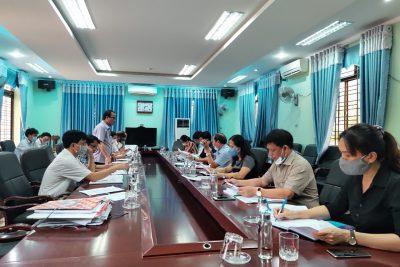 Sở Giáo dục và Đào tạo làm việc với lãnh đạo huyện Trà Bồng