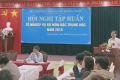 Hội nghị nghiệp vụ Tổ nghiệp vụ bộ môn giáo viên bậc trung học năm 2018