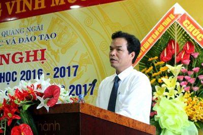 Sở Giáo dục và Đào tạo Quảng Ngãi: Hội nghị tổng kết năm học 2016 – 2017