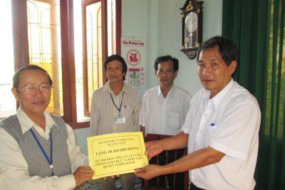 Hỗ trợ khắc phục lũ lụt trong ngành giáo dục