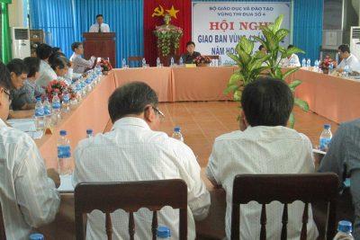 Hội nghị giao ban Vùng thi đua số 4 lần thứ 2 năm học 2013 – 2014