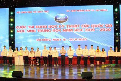 Quảng Ngãi: đạt giải Khoa học kỹ thuật cấp quốc gia năm học 2019-2020