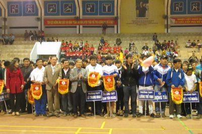 Khai mạc Đại hội Thể dục – Thể thao ngành Giáo dục và Đào tạo tỉnh Quảng Ngãi năm 2013