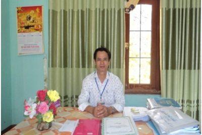 Một thầy giáo bình dị, nhiệt huyết và có ảnh hưởng tốt đẹp