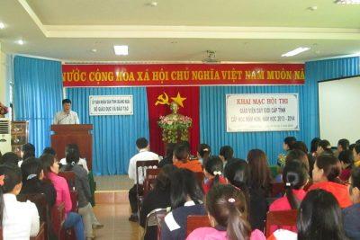 Quảng Ngãi tổ chức thi giáo viên dạy giỏi cấp tỉnh cấp học Mầm non năm học 2013-2014