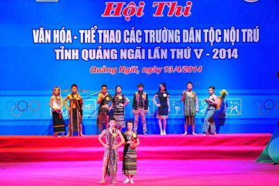 Khai mạc Hội thi Văn hóa- Thể thao các trường DTNT lần thứ 5 – 2014