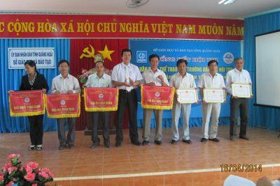 Tổng kết Hội thi Văn hóa – Thể thao các trường Dân tộc nội trú tỉnh Quảng Ngãi lần thứ V-năm 2014