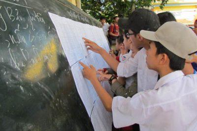 Gần 900 thí sinh chạy đua vào Trường Chuyên Lê Khiết