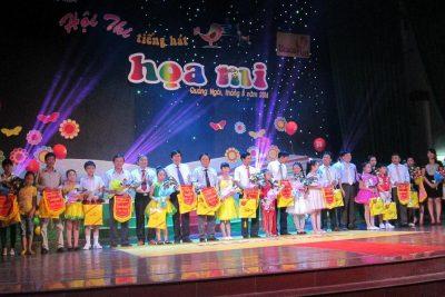 Khai mạc Hội thi Tiếng hát Họa mi tỉnh Quảng Ngãi lần thứ IX-2014