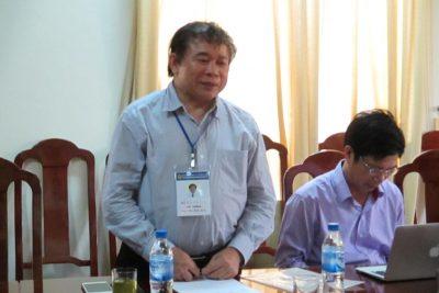 Thứ Trưởng Bộ Giáo dục và Đào tạo Bùi Văn Ga kiểm tra công tác chấm thi THPT quốc gia năm 2015 tại Quảng Ngãi