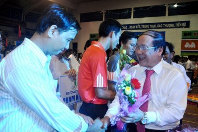 Khai mạc Hội khỏe Phù Đổng tỉnh Quảng Ngãi lần thứ XI- năm 2015