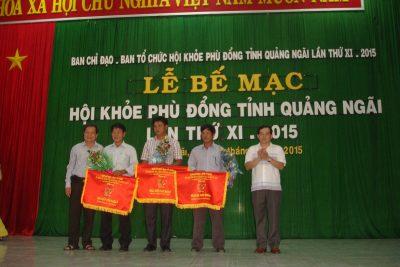 Bế mạc, trao giải Hội khỏe Phù Đổng tỉnh lần thứ XI- năm 2015