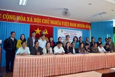 Công đoàn ngành Giáo dục ký quy chế phối hợp hoạt động với Liên đoàn Lao động huyện, thành phố giai đoạn 2013- 2018