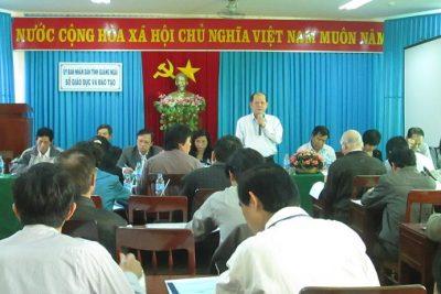 Đoàn khảo sát của Hội đồng Dân tộc của Quốc hội làm việc tại Quảng Ngãi