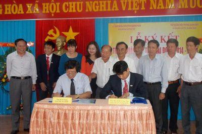Lễ Ký kết thoả thuận hợp tác giữa Sở Giáo dục và Đào tạo với Chi nhánh Viettel Quảng Ngãi