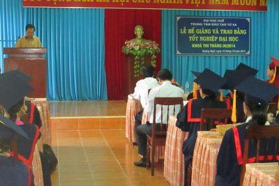 Lễ Phát bằng tốt nghiệp khoá thi tháng 6/2014 tại Quảng Ngãi