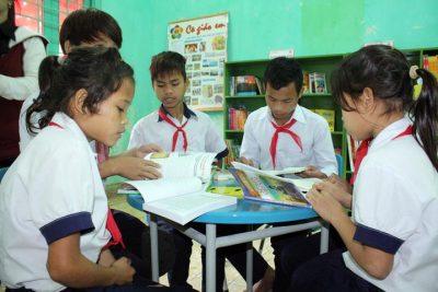 Trao tặng Thư viện Honda- ý tưởng trẻ thơ cho Trà Bồng và Ba Tơ