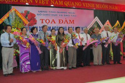 Tọa đàm kỷ niệm 33 năm Ngày Nhà giáo Việt Nam 20-11