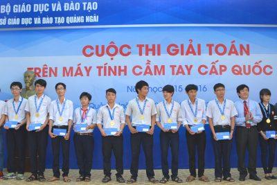 Tổng kết Cuộc thi Giải toán trên máy tính cầm tay cấp quốc gia