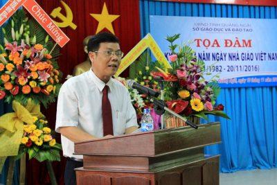 Tọa đàm kỷ niệm 34 năm Ngày Nhà giáo Việt Nam 20-11