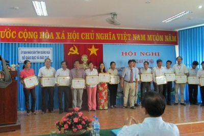 Ngành Giáo dục Quảng Ngãi Tổ chức Sơ kết 02 năm thực hiện Chỉ thị 03-CT/TW của Bộ Chính trị