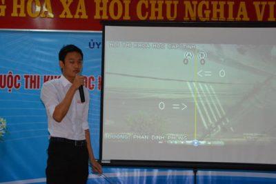 Học sinh Quảng Ngãi đạt 5 giải trong Cuộc thi Sáng tạo Khoa học kỹ thuật cấp Quốc gia