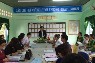 Ngành Giáo dục Quảng Ngãi nỗ lực trong việc đầu tư xây dựng trường đạt chuẩn quốc gia