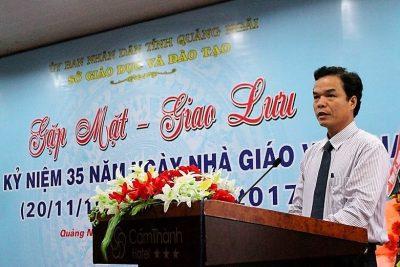 Sở Giáo dục và Đào tạo: Gặp mặt kỉ niệm 35 năm ngày Nhà giáo Việt Nam