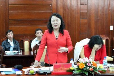 Đoàn công tác Bộ Giáo dục và Đào tạo làm việc với UBND tỉnh Quảng Ngãi