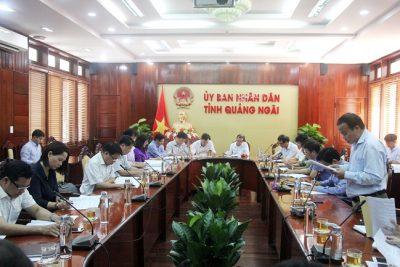 Tỉnh Quảng Ngãi tổ chức họp Ban chỉ đạo thi THPT năm 2020