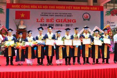 Chính sách hỗ trợ đối với học sinh Trường Trung học phổ thông chuyên Lê Khiết