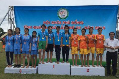 Tiếp tục tổ chức thi đấu tại Hội khỏe Phù Đổng tỉnh Quảng Ngãi lần thứ XII năm 2018
